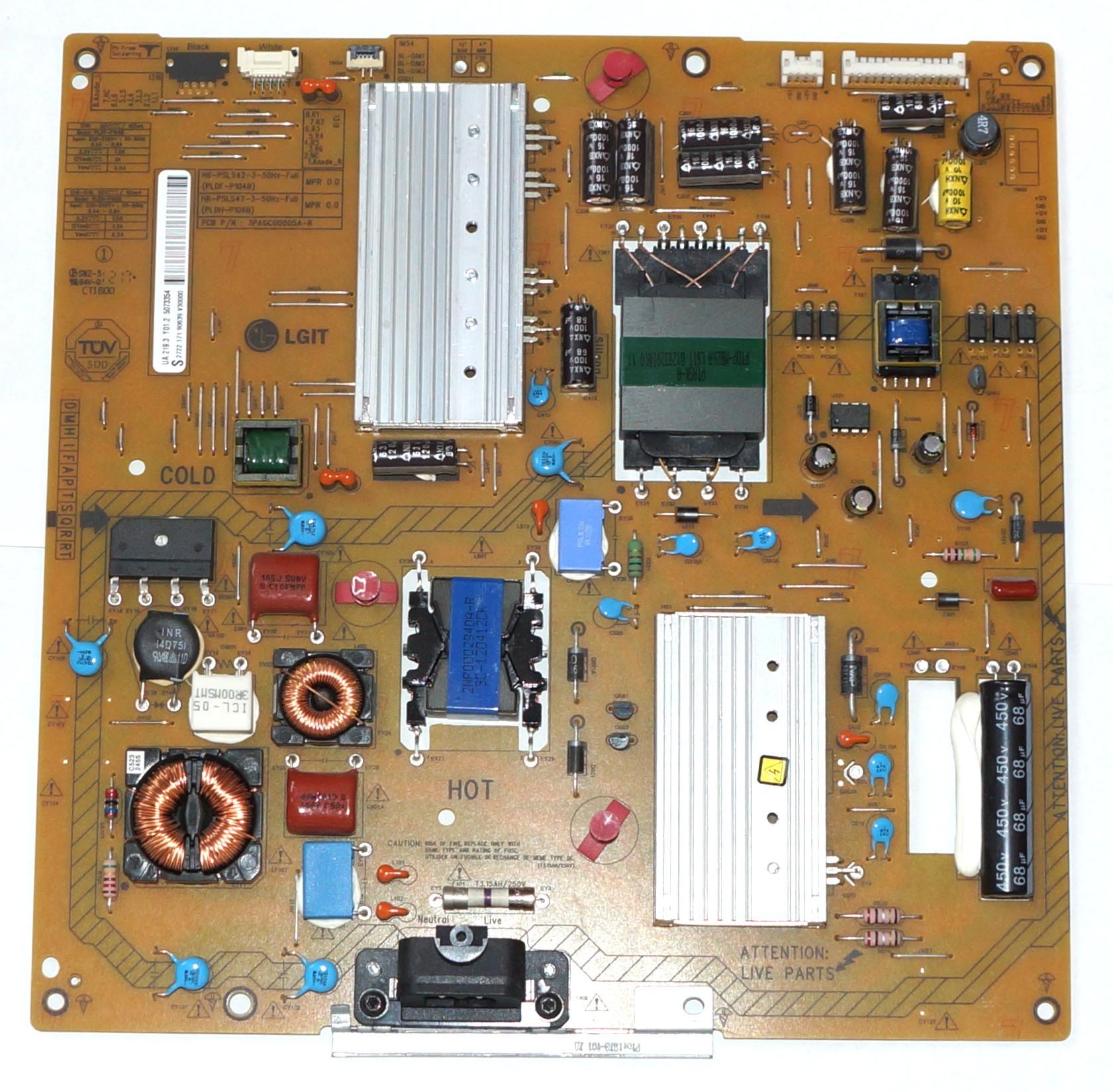PLDF-P104B 3PAGC00005A-R блок питания телевизора Philips
