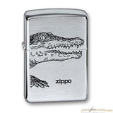 Зажигалка ZIPPO Alligator Brushed Chrome (200 ALLIGATOR)