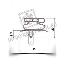 Уплотнительный профиль_019 (тип ТР) для холодильного оборудования.