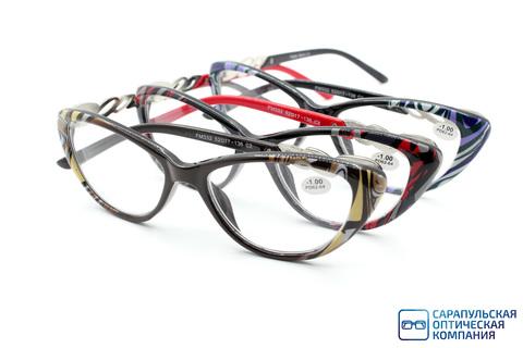 Очки готовые для зрения FABIA MONTI пластик FM332