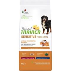 Natural Trainer Sensitive No Gluten Adult M/M Salmon для взрослых собак средних и крупных