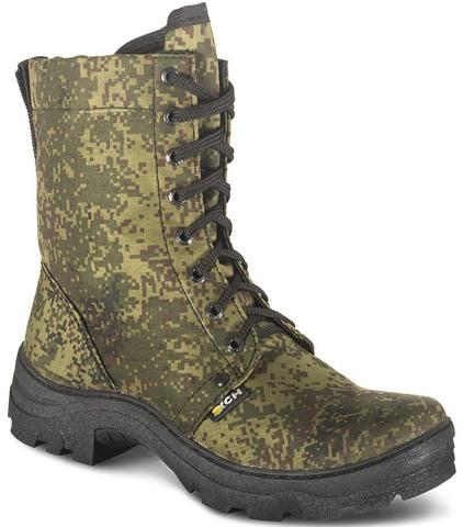 Ботинки с высокими берцами Турист (камуфляж) арт511