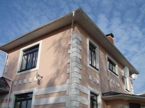 Оформление фасада коттеджа, Ижевск