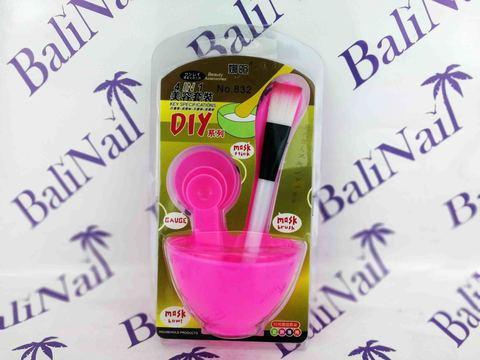 Набор для смешивания масок (5 предметов) розовый