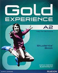 Gold Experience A2 Students' Book+DVD