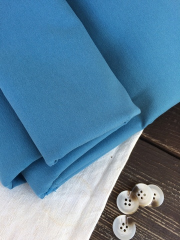 Хлопок, твилл, цвет P. Blue