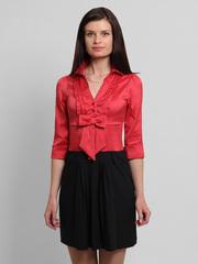 0871-3 платье красно--черное