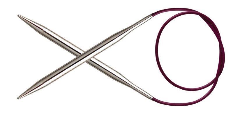 Спицы KnitPro Nova Metal круговые 6 мм/100 см 11356