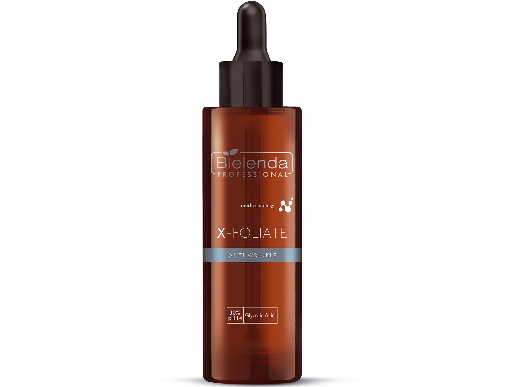 X-FOLIATE Anti Wrinkle Пилинг для кожи лица,  с мощным лифтинг эффектом, 30 мл.