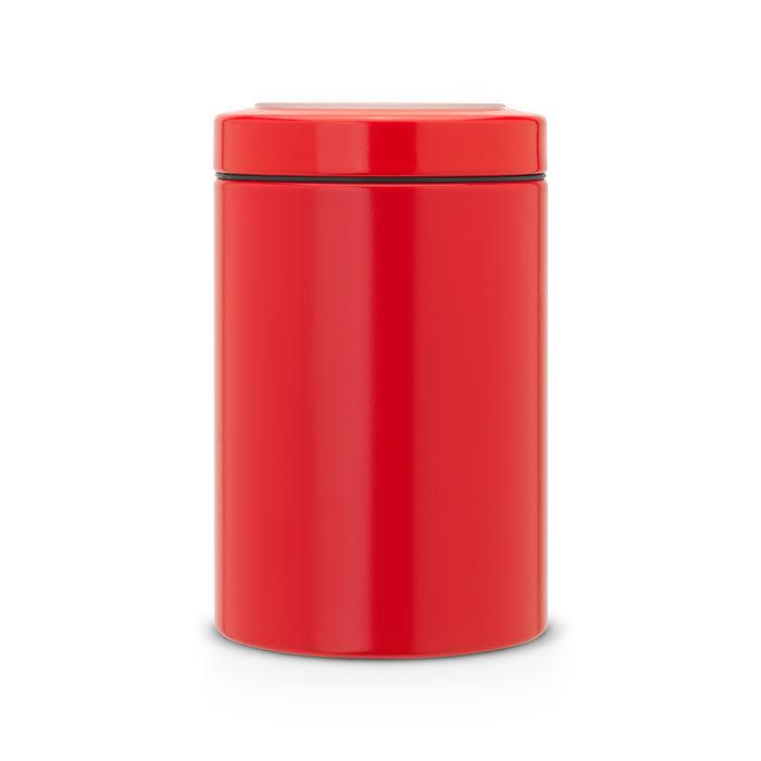 Контейнер для сыпучих продуктов с окном на крышке (1,4 л), Пламенно-красный, арт. 484049 - фото 1