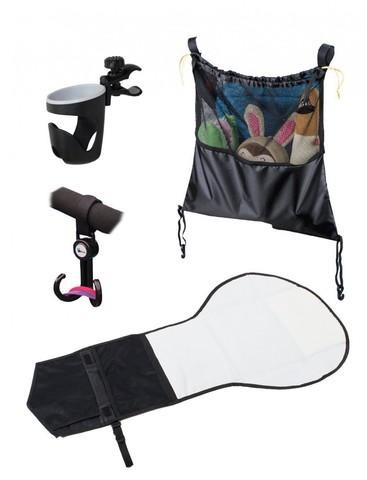 Набор для путешествий и аксессуары AL1970 (сетчатая сумка/держат для бут/крючок/наб для подгузников) (стандарт)