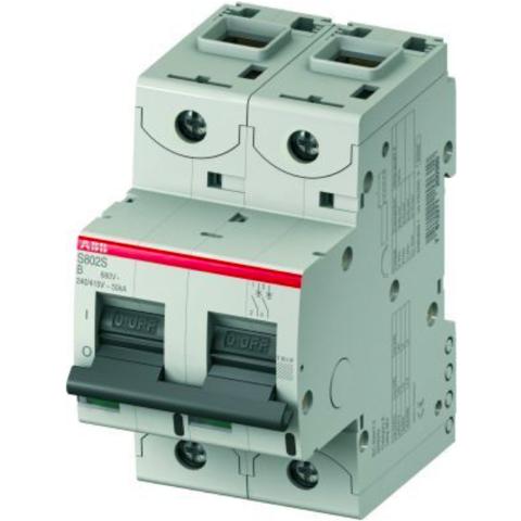 Автоматический выключатель 3-полюсный 10 А, тип  UCB, 25 кА S803S-UCB10. ABB. 2CCS863001R1105