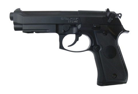 Пистолет пневматический Stalker S92ME (Beretta 92, металл) 120 м/с