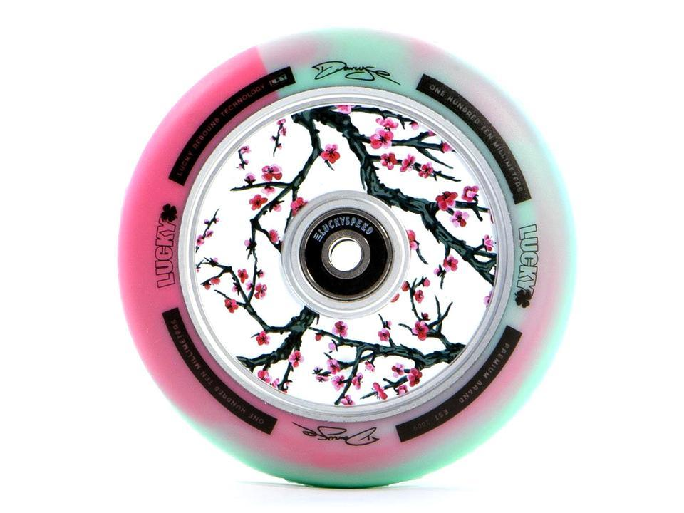 Колеса Lucky Darcy Cherry-Evans Pro Scooter Wheel (110mm, Teal/Pink/White