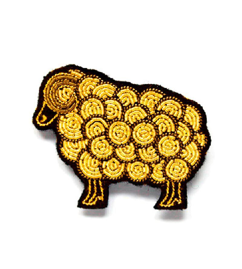 Брошь Sheep Gold от Macon&Lesquoy