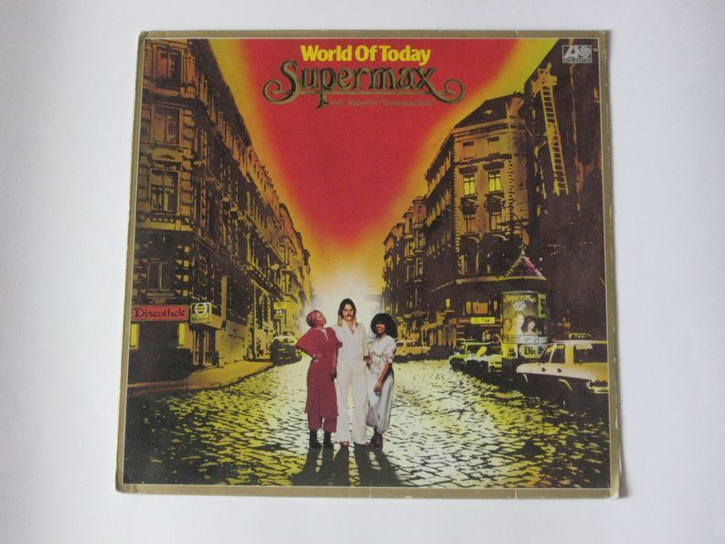 Supermax / World Of Today (Coloured Vinyl)(LP)