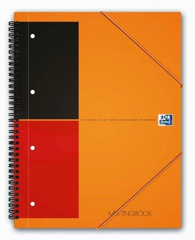 Бизнес-тетрадь International MeetingBook A4+ (24*31см) линейка 80л пластиковая обложка