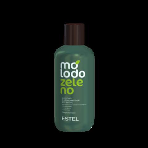 Шампунь с хлорофиллом для волос ESTEL Molodo Zeleno, 250 мл
