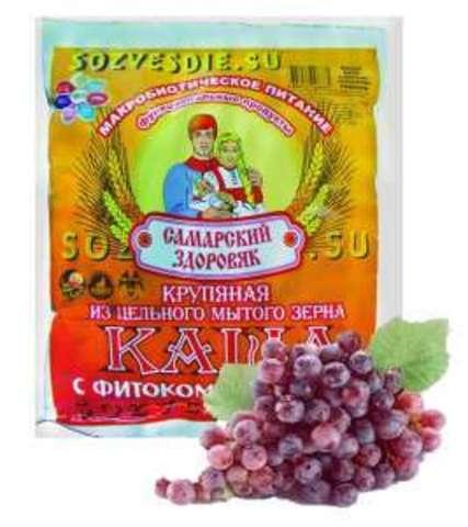 Каша Самарский Здоровяк №61 Виноградная косточка