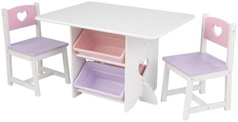 KidKraft Heart - набор детской мебели 26913_KE