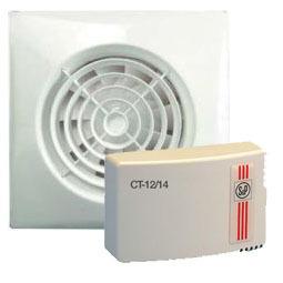 Solar & Palau (S&P) (Испания) Вентилятор с трансформатором Soler & Palau KIT SILENT 100 CZ 12V+CT 12/14 UNE403602.jpg