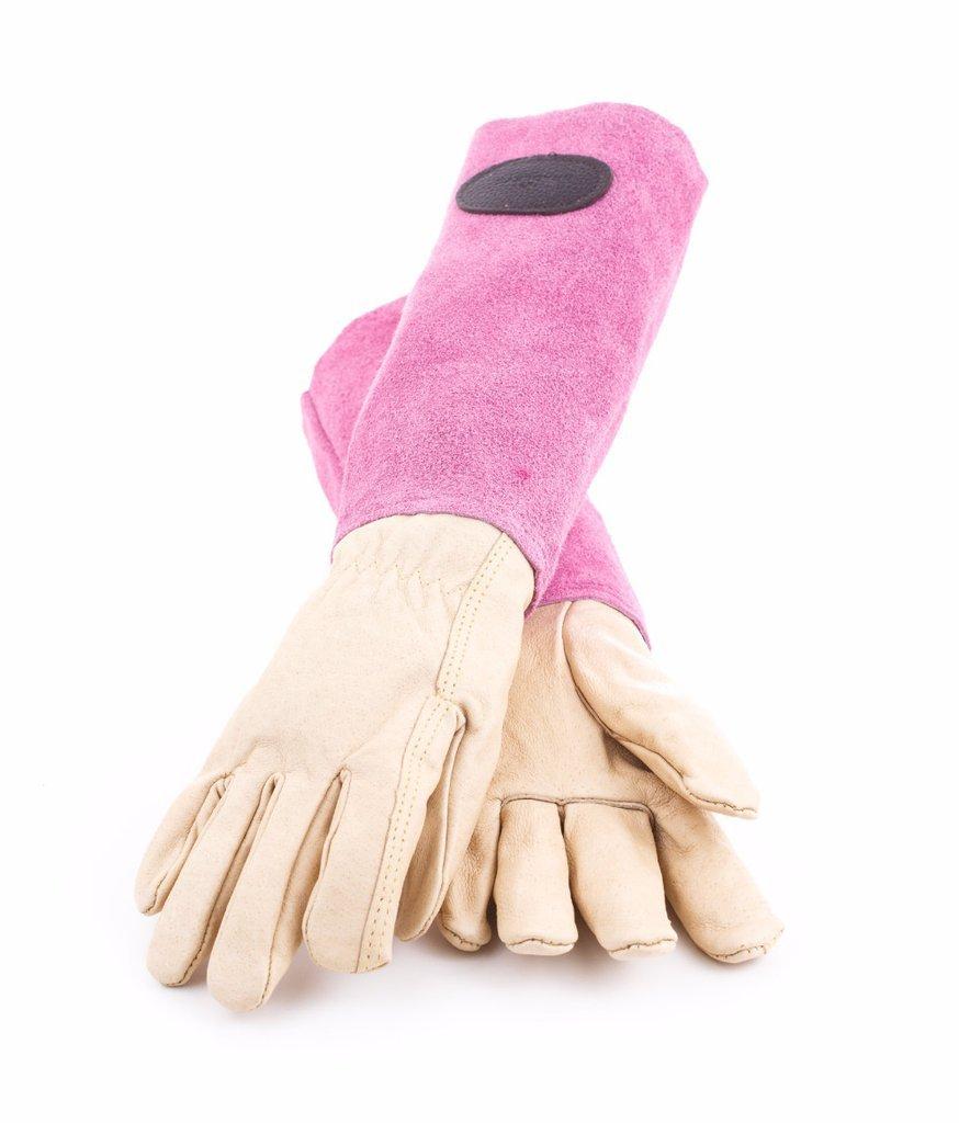 Перчатки для роз с замшевыми раструбами Bradleys