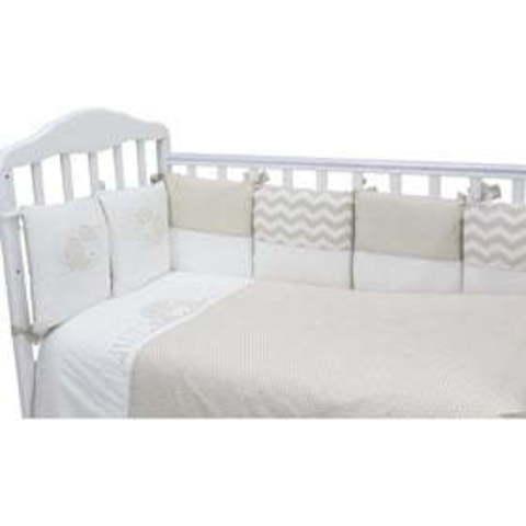 Борт в кроватку Топотушки Долли 12 подушек 170