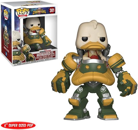Фигурка Funko POP! Vinyl: Games: Marvel Contest of Champions: Howard the Duck (Mech Suit) 26711
