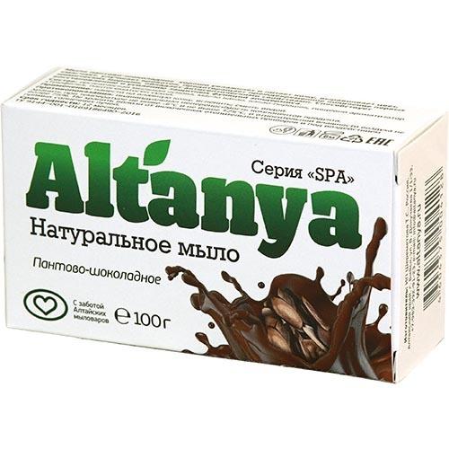 Натуральное мыло пантово-шоколадное, 100 г