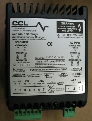 Блок подзарядки аккумулятора 24V 5 A / BATTERY CHARGER АРТ: 10000-50090