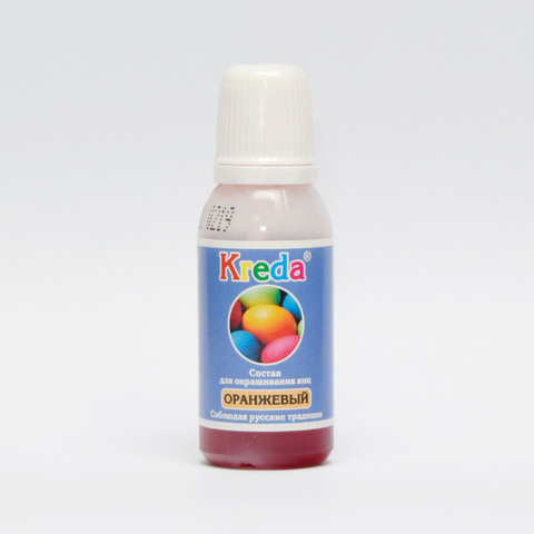 Краситель для яиц Kreda,оранжевый,20гр