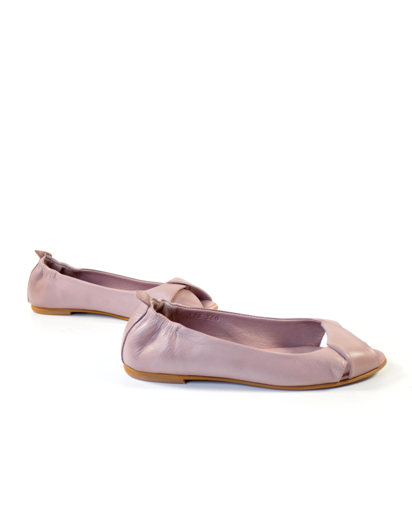 розовые балетки Mario Muzi