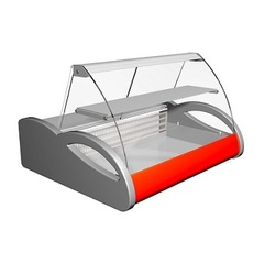 Барная (настольная) витрина А87 SV 1,0-1 (ВХСн-1,0 Арго), 1000х865х630, -6...0 С
