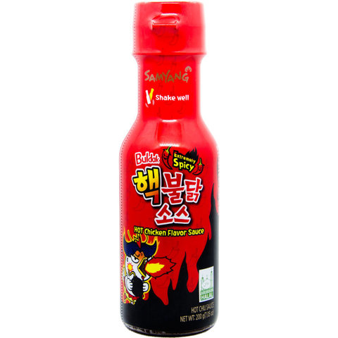 Соус со вкусом курицы очень острый Extremely spicy hot chicken flavor sauce 200 гр