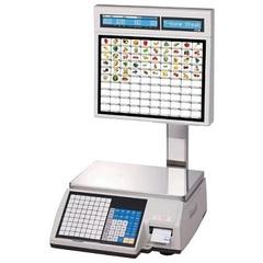 CAS CL-5000J-15IS весы с печатью этикетки, Ethernet