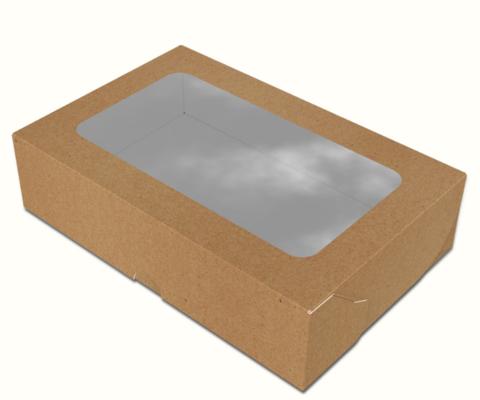 Коробка для суши 200х130х50 мм макси крафт