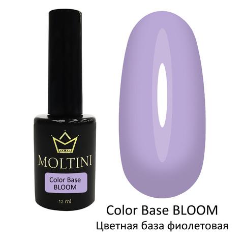 Moltini Цветная база Color Base BLOOM (фиолетовая) 12 мл.