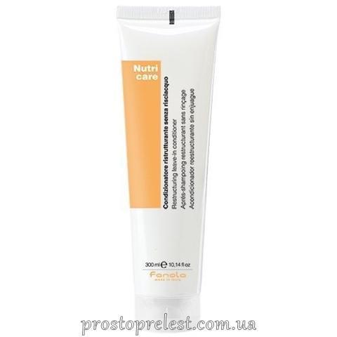 Fanola Nutri Care Restructuring Leave-In Conditioner - Незмивний кондиціонер для сухого волосся