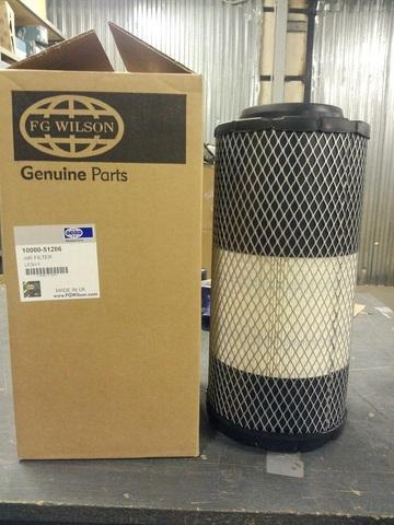 Фильтр воздушный, элемент / AIR FILTER АРТ: 10000-51286