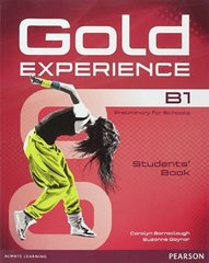 Gold Experience B1 Students' Book+DVD