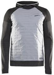 Элитная утепленная беговая куртка CRAFT Sub Zero 2020 Tofu / Asphalt мужская
