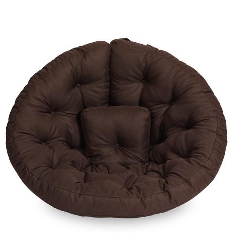 Бескаркасное кресло-футон «Оустер», Тёмный шоколад