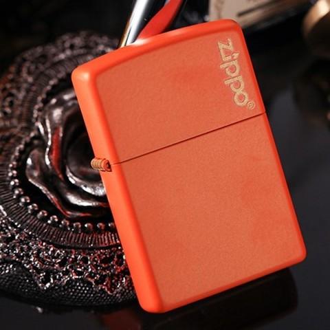 Зажигалка Zippo 231ZL Orange Matte
