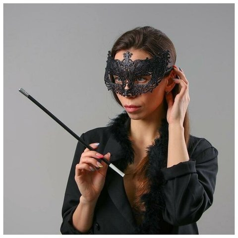 Карнавальный набор «Бонни» (маска, мундштук, боа)