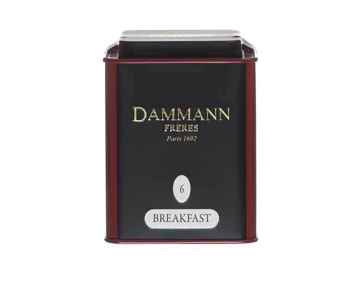 Чай черный Dammann Breakfast, 100 г (Дамманн)