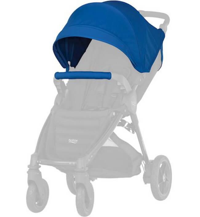 Капор для коляски B-Agile 4 Plus, B-Motion 4 Plus, B-Motion 3 Plus Капор для коляски B-Agile 4 Plus, B-Motion 4 Plus, B-Motion 3 Plus Ocean Blue kapor_ocean-blue.jpg