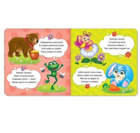 Книги картонные набор «Знакомимся с окружающим миром», 4 шт. по 10 стр.