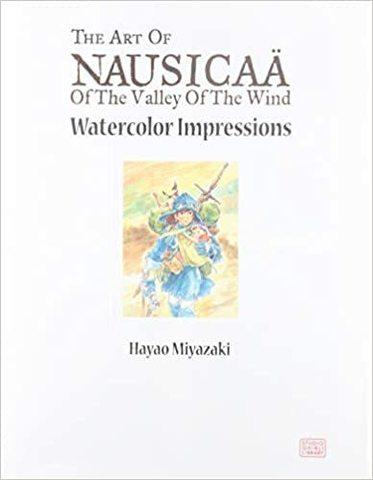 MIYAZAKI, HAYAO: Nausicaa watercolor impression