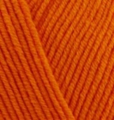 Пряжа Cotton gold Alize 37 Оранжевый