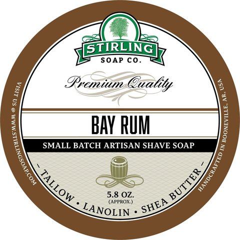 Мыло для бритья Stirling Bay Rum 170 мл